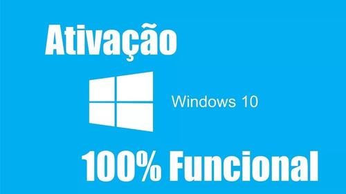 ativador windows 10 todas as versões envio imediato gratis