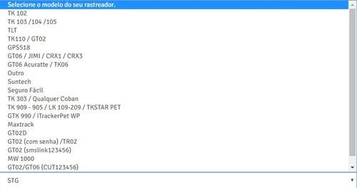 ativamos e configuramos seu rastreador na plataforma web
