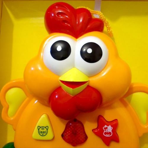 atividade animaizinhos som e luz galinha amarela buba 0010