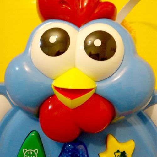 atividade animaizinhos som e luz galinha azul buba 0010