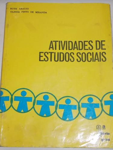 atividades de estudos sociais - 2a série - ruth araujo - oli