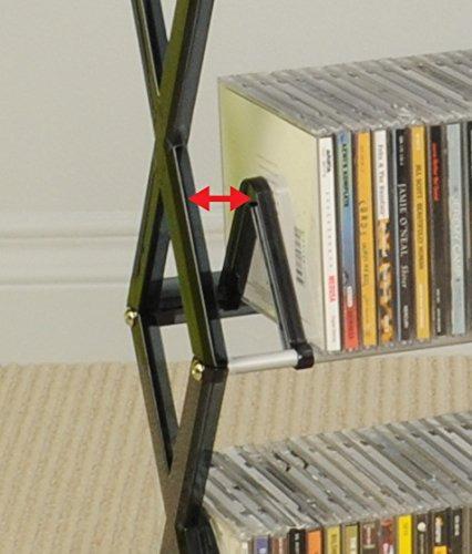 atlantic mitsu 130 cd / 90 dvd / bluray / juegos 5-tier medi