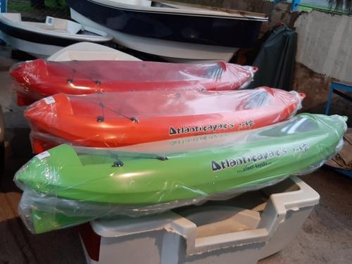 atlantikayak k1 kayak plastico