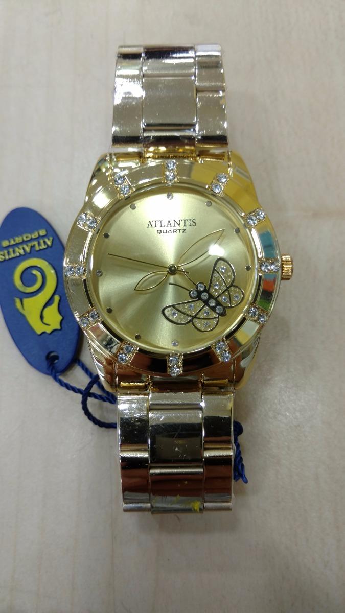 c03054ea2f8 Carregando zoom... relógio atlantis feminino luxo original - lançamentos  fret g