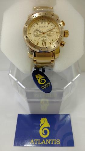 atlantis masculino relógio