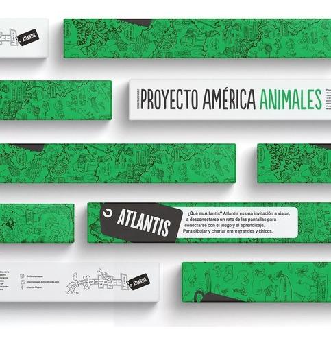 atlantis proyecto américa animales colores en fuga kids