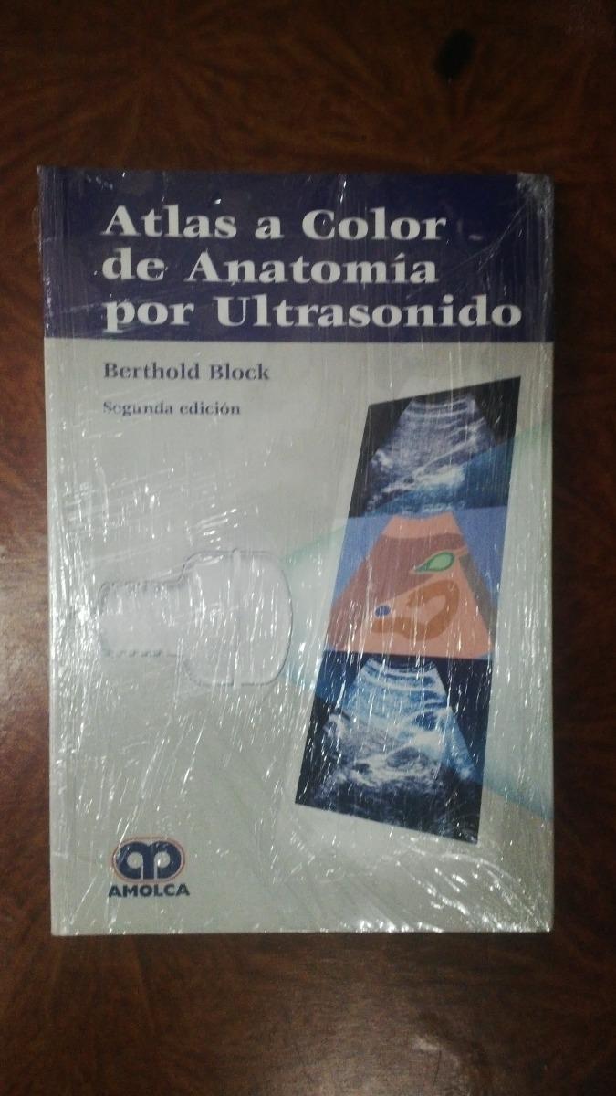 Atlas A Color De Anatomia Por Ultrasonido Amolca - Bs. 2.100,00 en ...