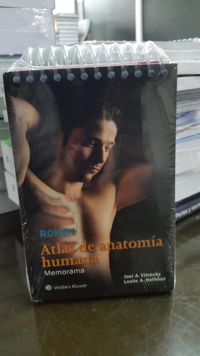 Atlas Anatomia Humana Memorama Bolsillo Rohen Yocochi - $ 955,00 en ...