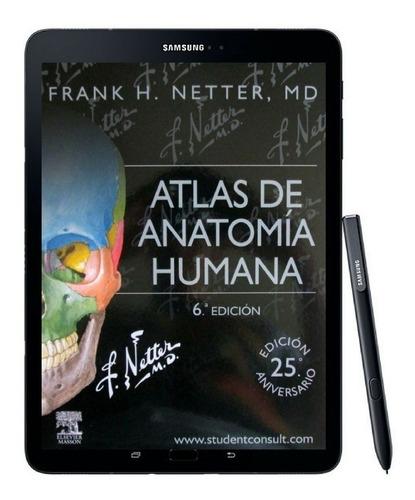 atlas anatomia humana netter 6 edicion y 1000 libros mas!