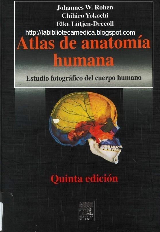 Atlas Anatomia Humana Rohen Yokochi 5ta Ed. - $ 370,00 en Mercado Libre