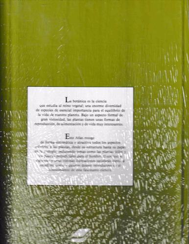 atlas botánica el mundo de las plantas + cd