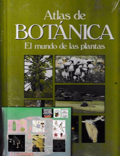 atlas botánica el mundo de las plantas - envío gratis + cd