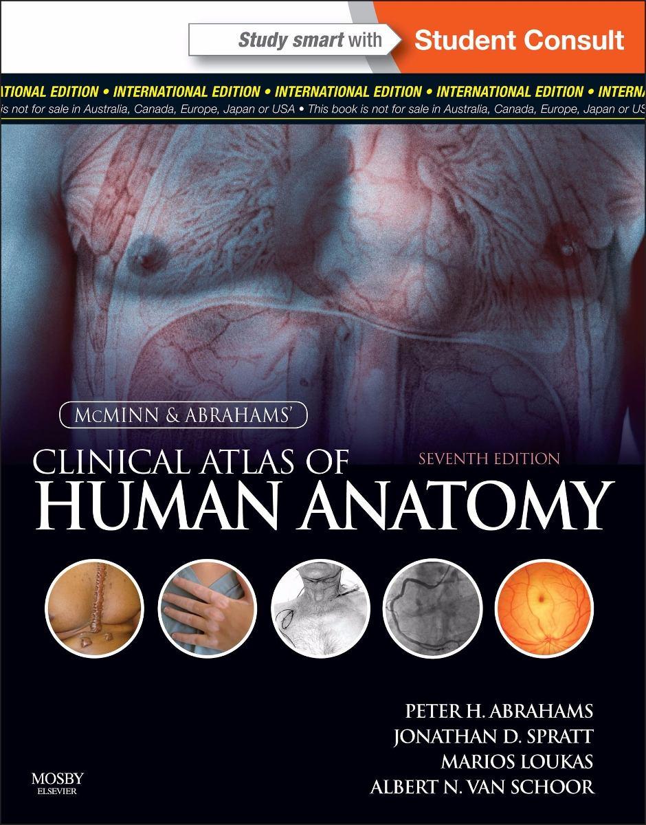 Atlas Clínico De Anatomía Humana Mcminn 7°ed (pdf Inglés) - $ 2.990 ...