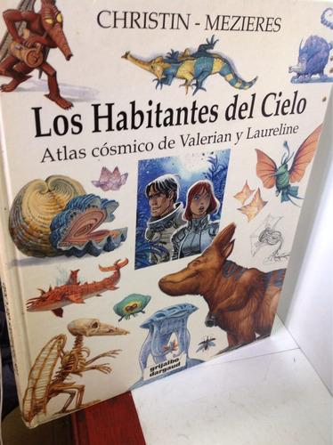 atlas cósmico de valerian y laureline. christin - mezieres
