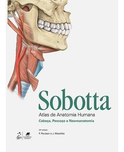atlas de anatomia humana - 3 volumes - valor à vista r$500