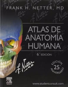 atlas de anatomia humana 6º edicion netter 100%original