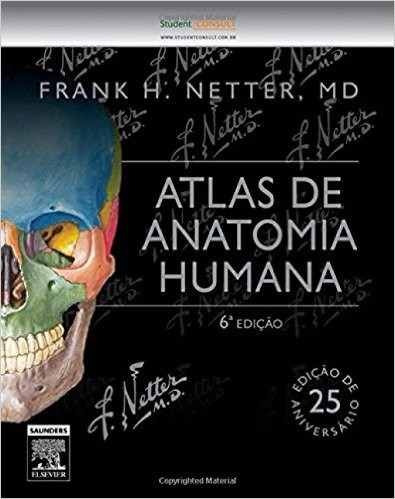 atlas de anatomia humana - 6ª edição