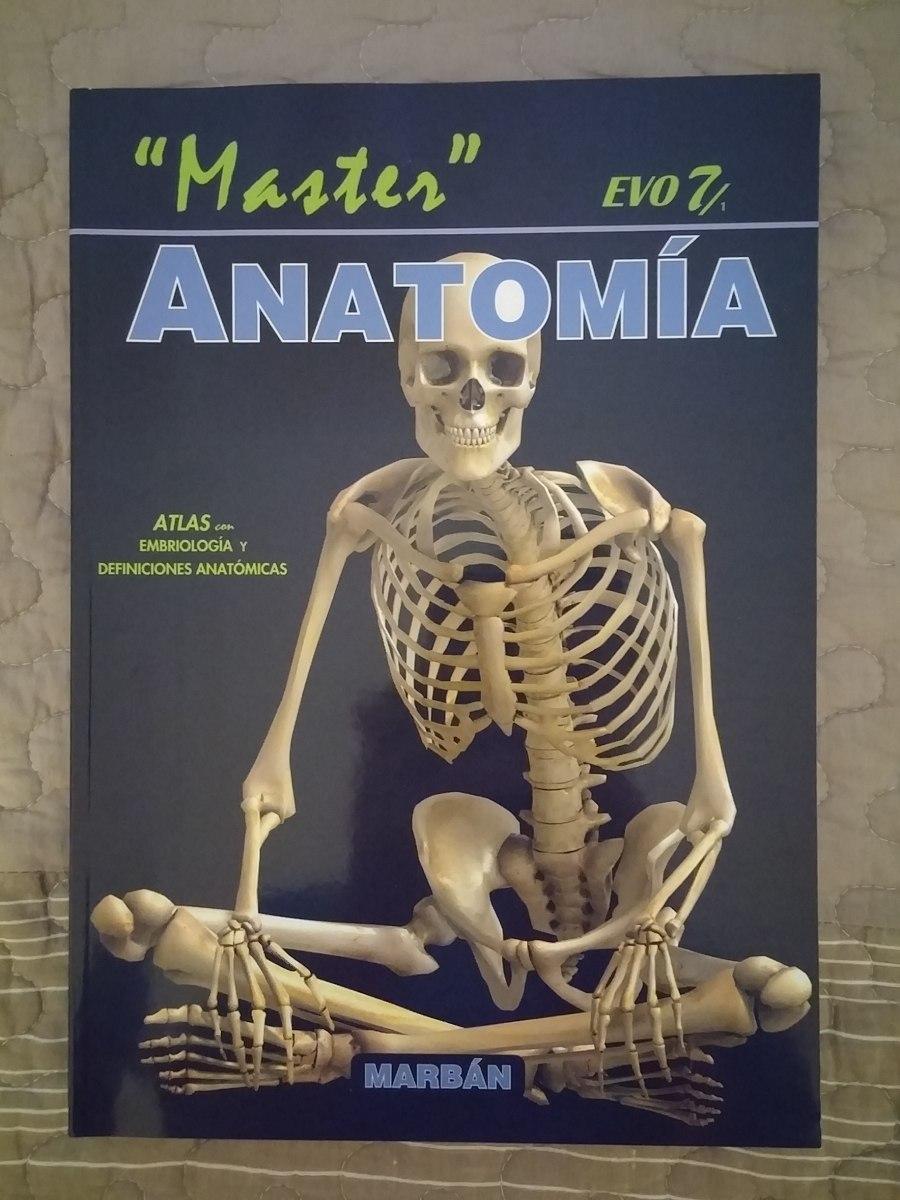 Atlas De Anatomía Humana - Master Evo 7 - $ 800,00 en Mercado Libre