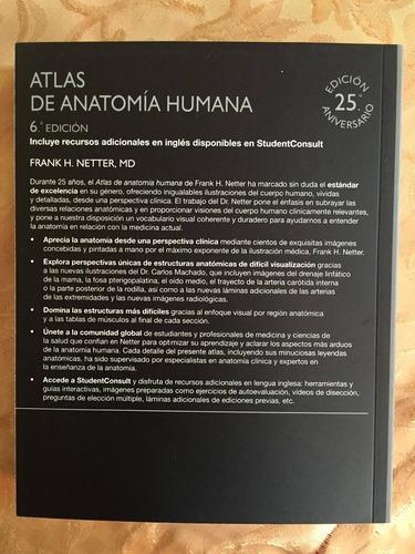 atlas de anatomia humana netter 6 enviogratistodochile