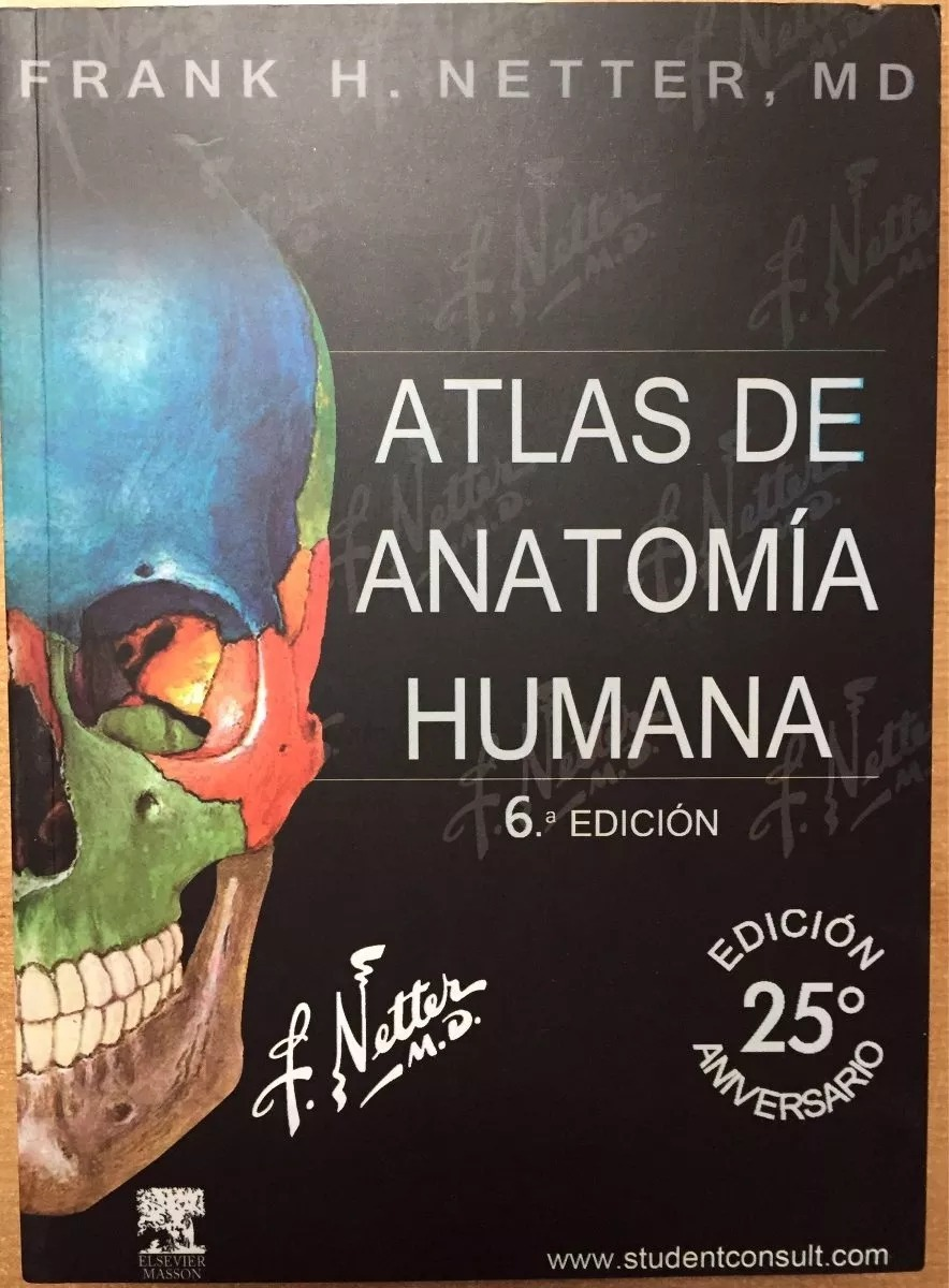 Atlas De Anatomia Humana Netter 6 - Lanus/microcentro Envios ...