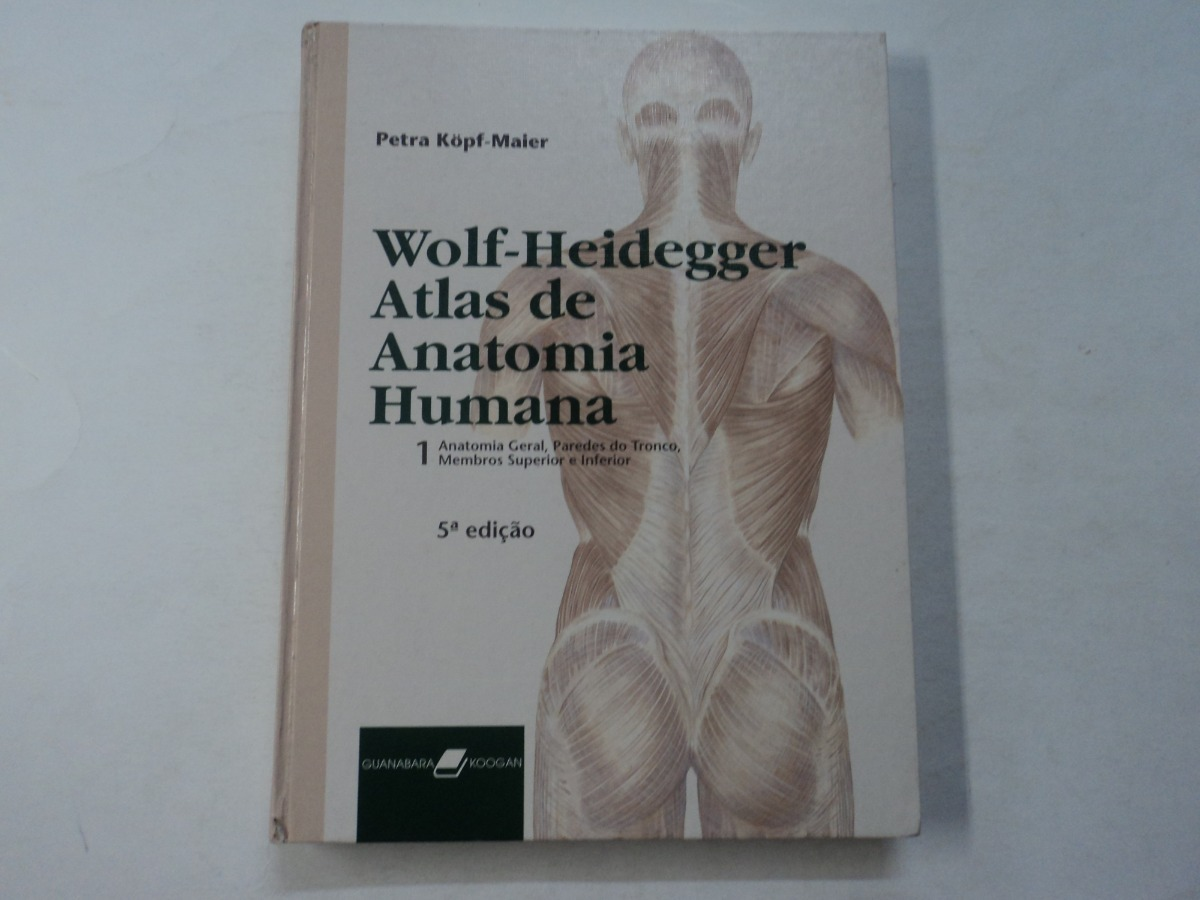d1ded08b8 Atlas De Anatomia Humana - Wolf-heidegger - 2 Volumes - R$ 350,00 em ...