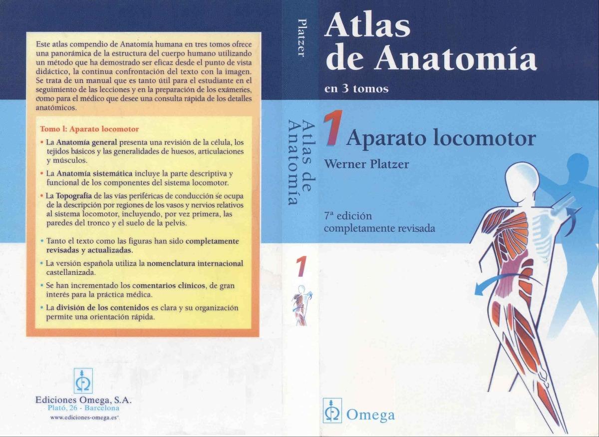 Atlas De Anatomia I Aparato Locomotor - $ 150.00 en Mercado Libre