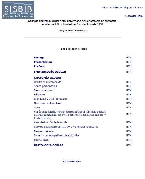 Atlas De Anatomía Ocular- Francisco Loayza Villar - $ 74.99 en ...