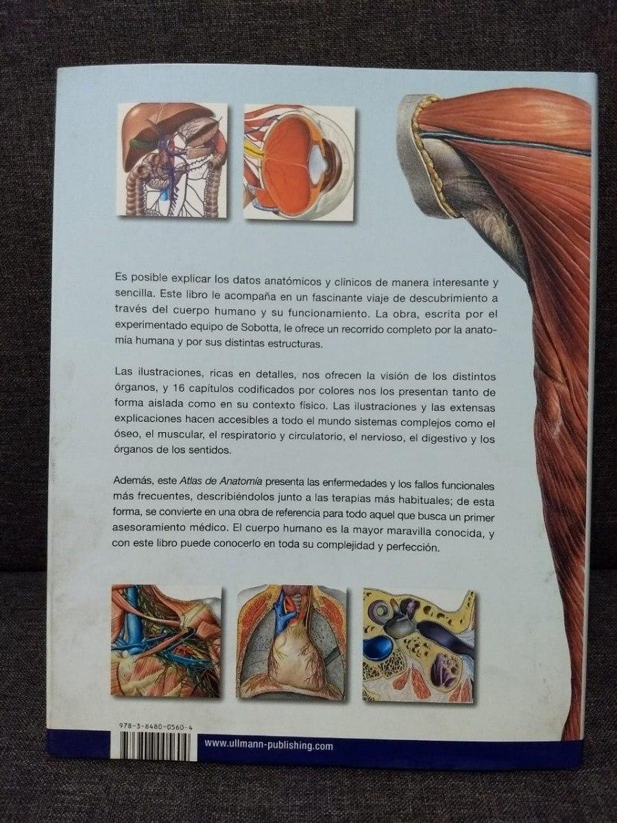 Atlas De Anatomia - Organos Sistemas Y Estructuras - $ 2.189,00 en ...
