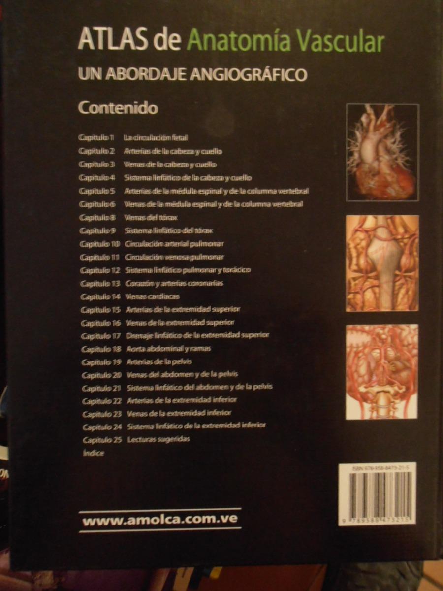 Atlas De Anatomia Vascular - Bs. 150,00 en Mercado Libre
