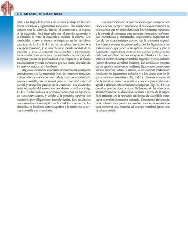 atlas de cirugía de tórax