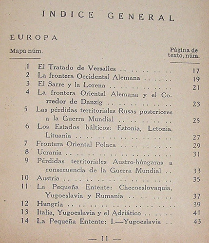 atlas de política mundial j. f. horrabin / ercilla