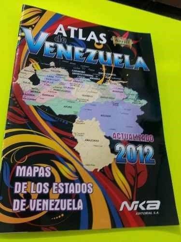atlas de venezuela nika editorial