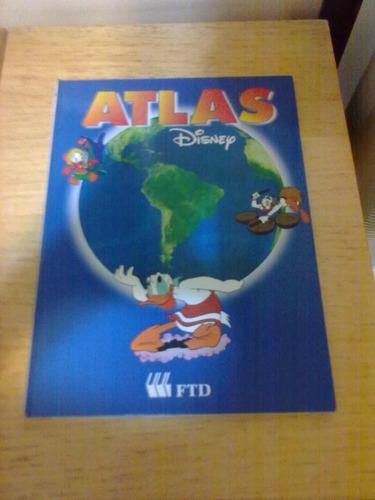 atlas disney infantil ilustrato 70 páginas tamanho grande