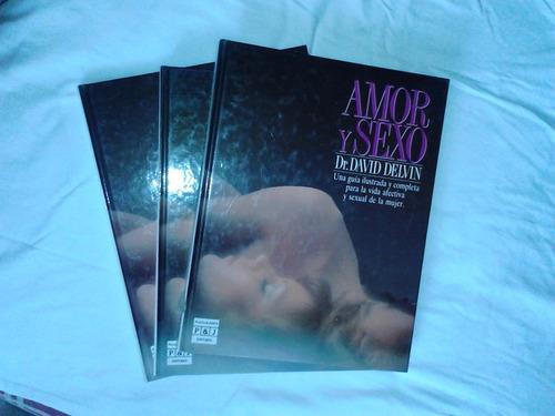 atlas enciclopedia sexología: amor y sexo , david delvin.