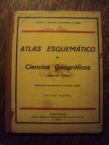 atlas esquematico de ciencias geograficas giuffra di leoni