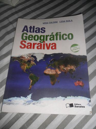 atlas geográfico saraiva vera caldini e leda isola