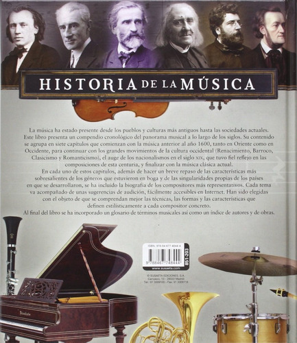 atlas ilustrado de la historia de la música - susaeta