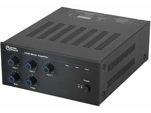 atlas sound aa35 35w mixer-amplificador ®