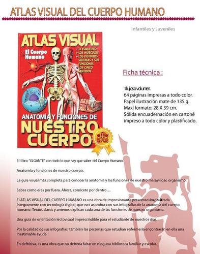 atlas visual del cuerpo humano 1 vol reymo