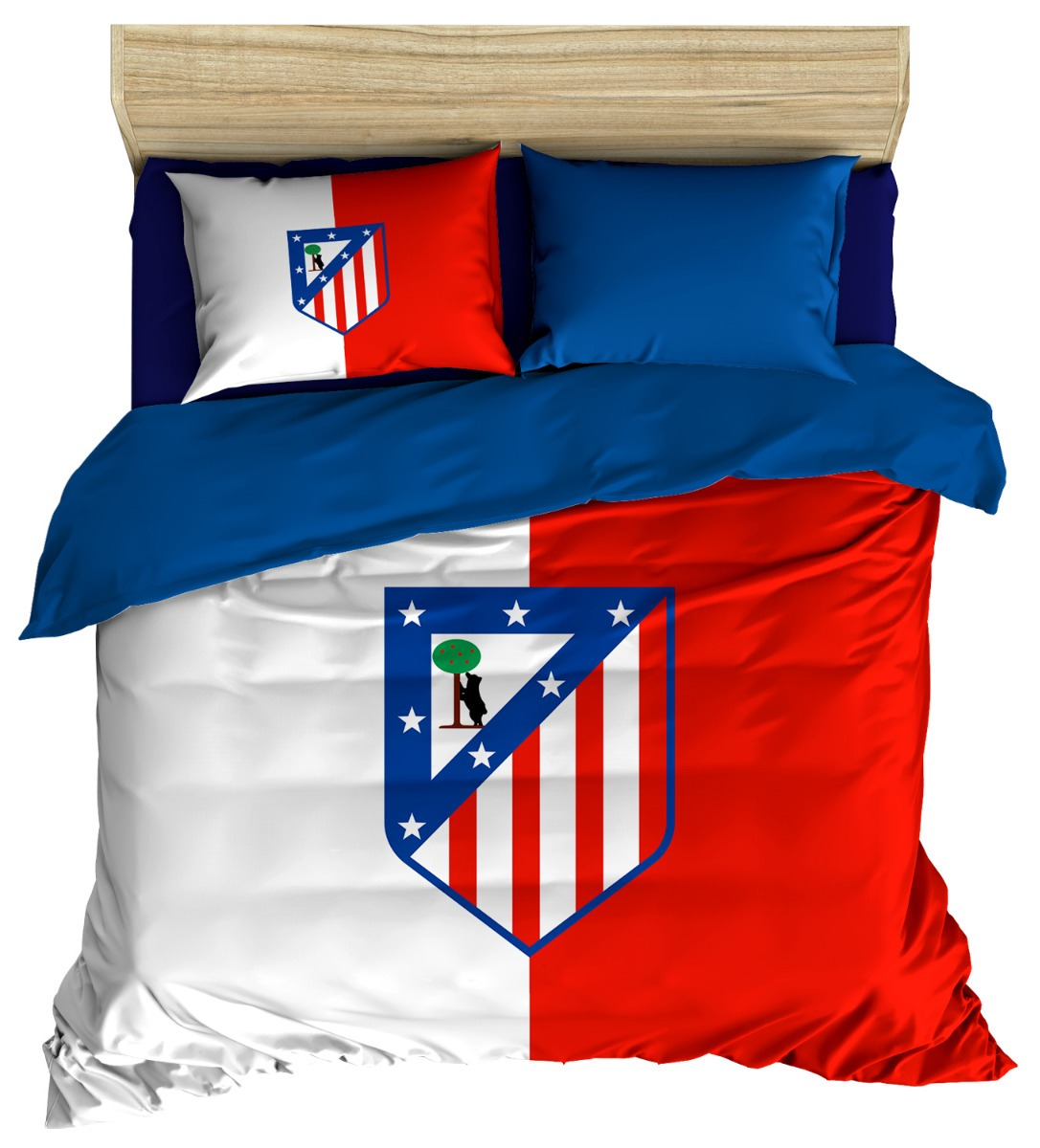Edredon Atletico.Atletico De Madrid Edredon Matrimonial