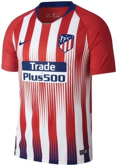 e348c4c6fc Atlético De Madrid - Uniforme 1 - 2018   2019 - Frete Grátis - R ...