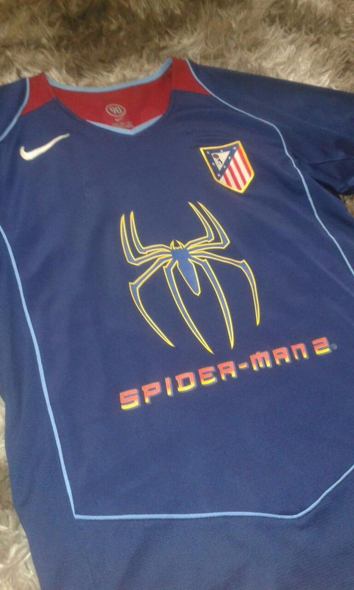 Carregando zoom... camisa atletico de madrid - spider man 2  9 fernando  torres e68f368b7f8b7
