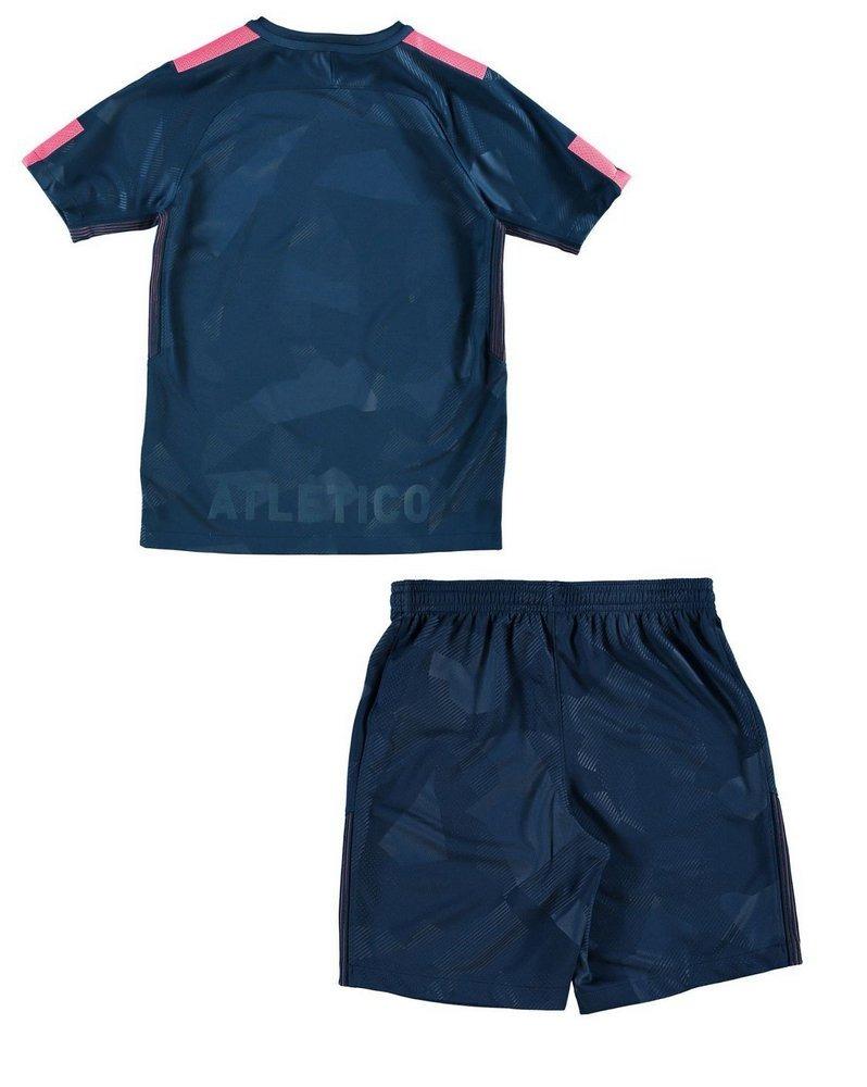 Uniforme Infantil Atlético De Madrid Oficial Camisa E Shorts - R  99 ... 7ecd18c774952