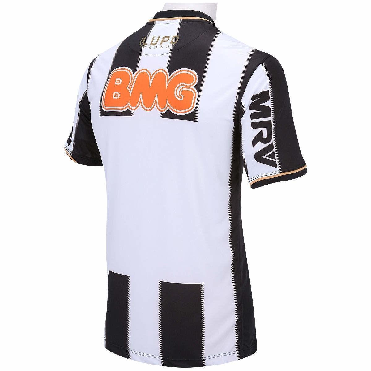 81d087376 Camisa Lupo Atlético Mineiro Libertadores 2013 S nº Tam  3g - R  89 ...