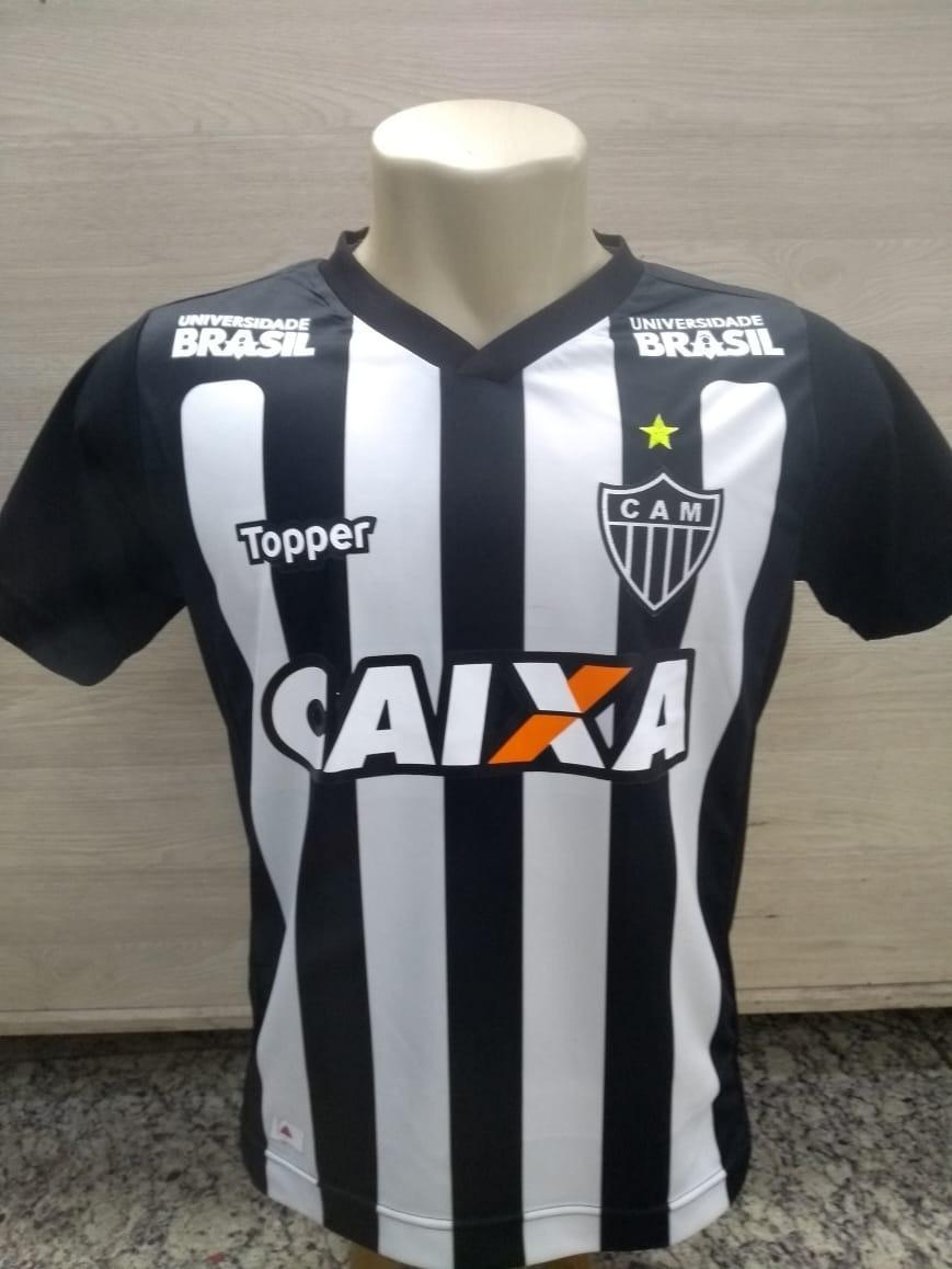 Camisa Camiseta Blusa Atletico Mineiro 2018 Super Promoção - R  59 ... b68a3193bda13