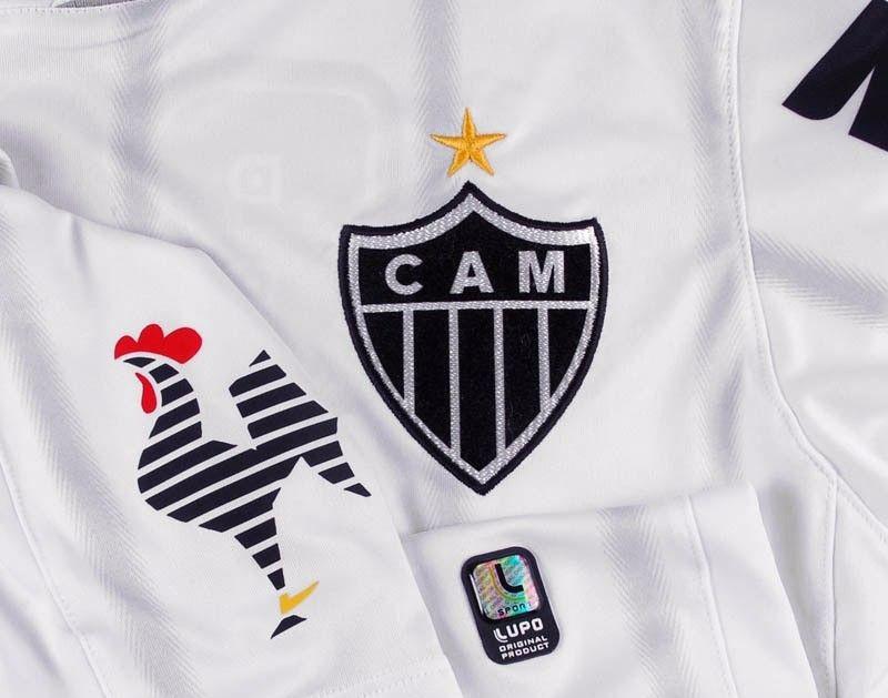 f81abb2ad Camisa Lupo Atlético Mineiro Libertadores 2013 S nº Branca - R  89 ...