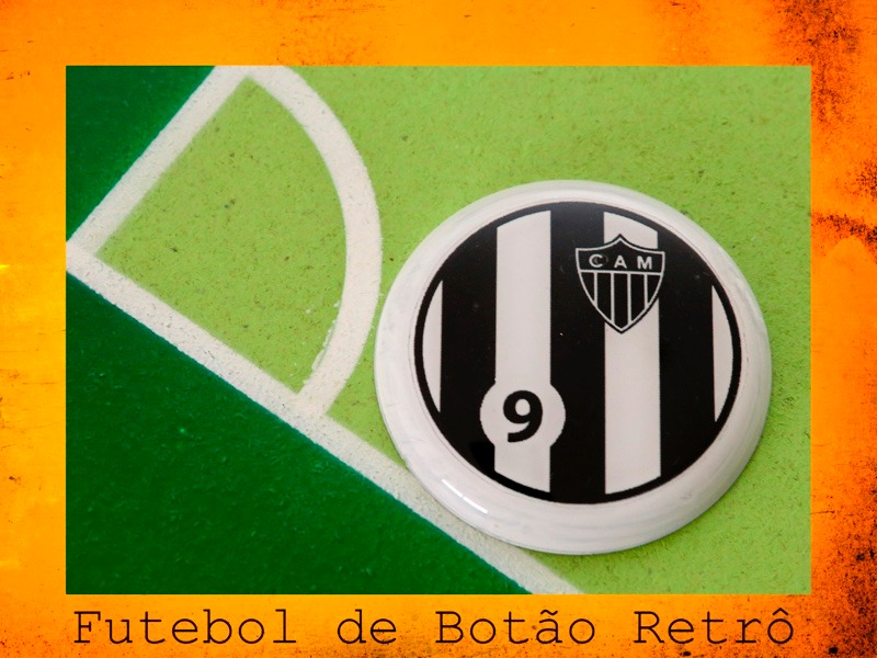 0691e8ebd3 Atlético Mineiro - Futebol De Botão Estilo Brianezi - R  49