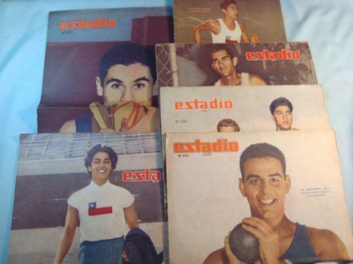 atletismo chile, 1960-1964. revistas estadio (6)