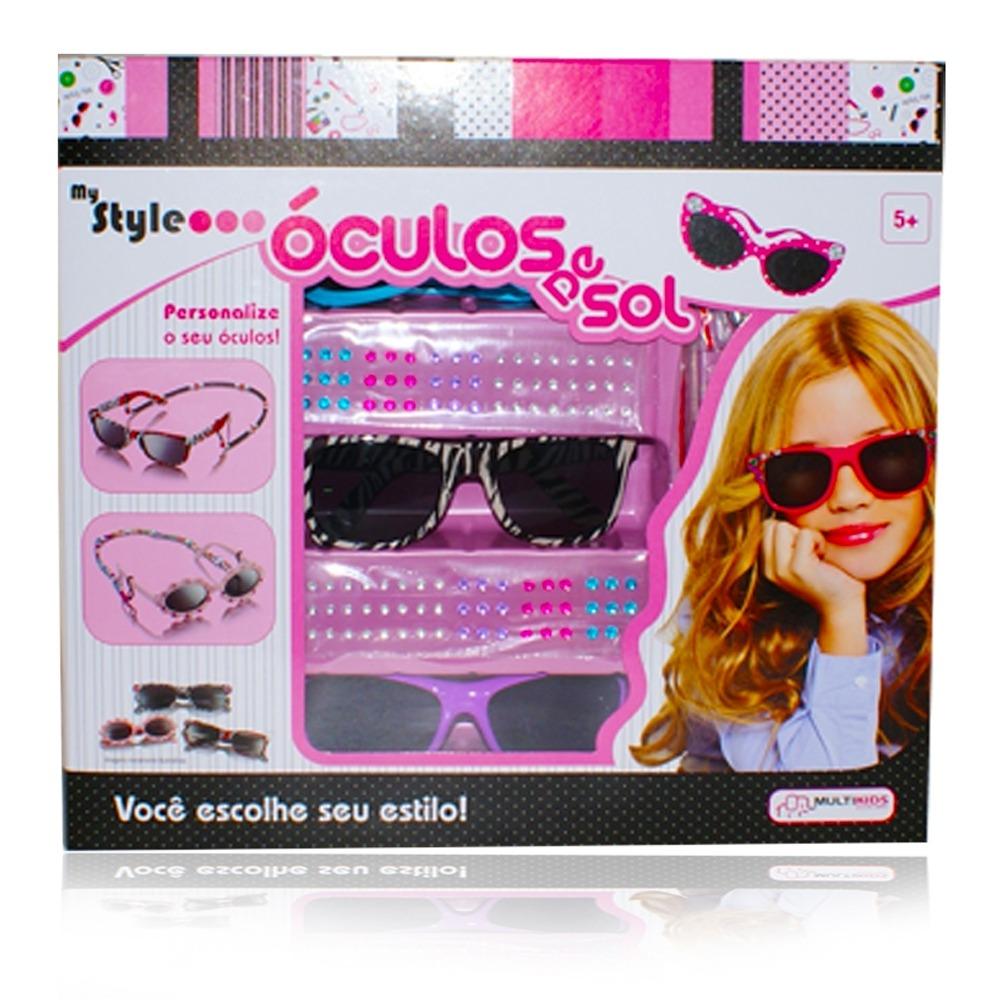 atêlie infantil óculos de sol personalizado my style br013. Carregando zoom. 63069c1460