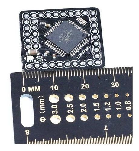 atmega644pa 644p 16mhz 5v tarjeta de desarrollo de código ab